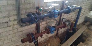 Установка узла учета тепловой энергии для производственного помещения 5000 м2 г. Чехов